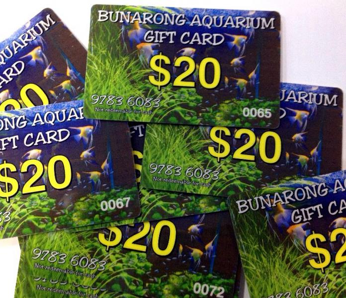 Gift Card $20 - Aquarium Store Melbourne | Marine Fish ...